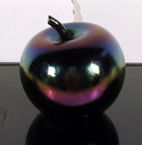 Patiuk Collectible Glass Paperweight, Apple
