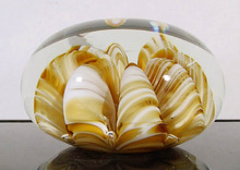 Collectible Glass Paperweight, Joe St. Clair