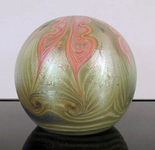 Collectible Glass Paperweight, Vandermark