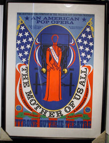 Robert Indiana, Serigraph, The Mother of Us All