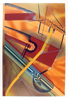 William Schwedler S/N Serigraph, 1979, Abstract