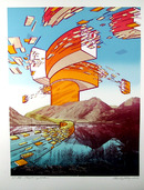 Charles Magistro S/N Lithograph, Laughing Water