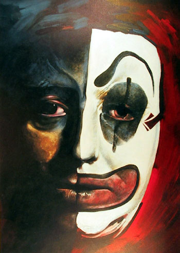 Harpaz Signed/Numbered Lithograph, Clown