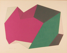 Jean-Marie Haessle, OP Art Serigraph Breakout
