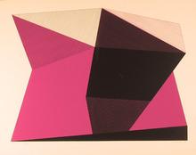 Jean-Marie Haessle S/N Serigraph Print, Pink