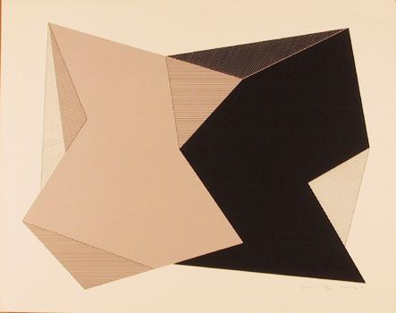 Jean-Marie Haessle S/N Serigraph Print, Symmetries