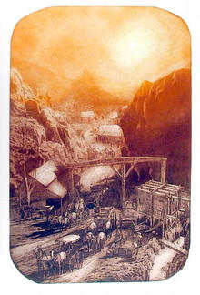 Roy Purcell S/N Etching, Devils Gate toll load