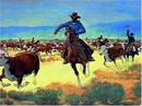Cecil Smith S/N Western Print, The Last Lasso
