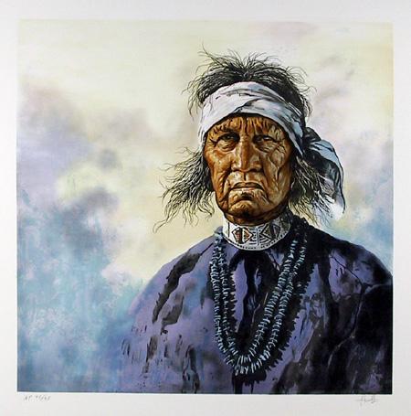 Jorge Tarallo, Native American Lithograph