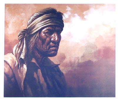Jorge Tarallo S/N Lithograph Print, Indian