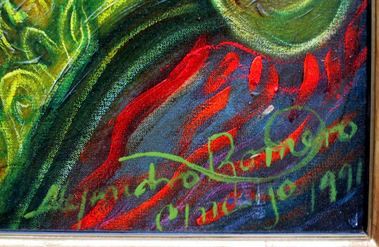 Alejandro Romero Oil on Canvas Painting, Jazz