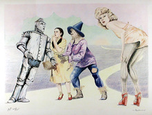 Robert Anderson, S/N Lithograph, Wizard of Oz