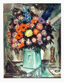 Lloyd Lozes Goff S/N Print, Avignon Bouquet