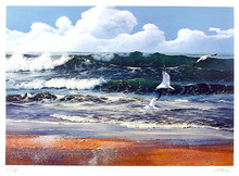 Uwe Werner S/N Seascape Print, After the storm