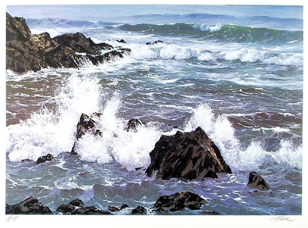 Uwe Werner S/N Seascape Print,