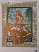 Cindy Wolsfeld S/N Lithograph Print, Nude