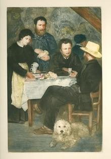 Pierre-Auguste Renoir Etching