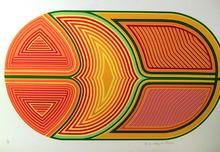Evelyn Lapez De Guzman OP Art Serigraph