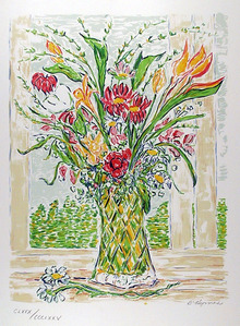B. Hyman S/N Floral Print, Beverly Arrangement