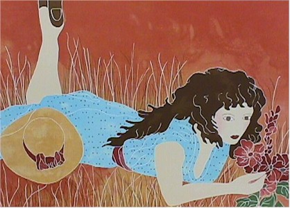 Gina Lombardi S/N Lithograph, Summer Day