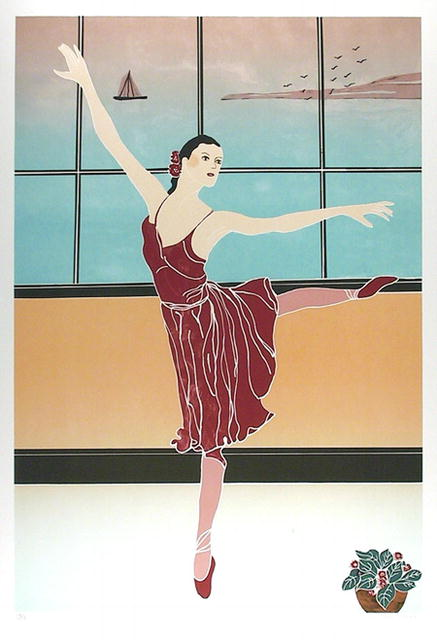 Gina Lombardi S/N Lithograph, Solitary Dancer