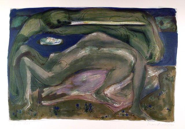 Daniel Marshall S/N Abstract Print