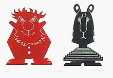 Jean Sariano S/N Etching, Le Rouge et Le Noir