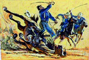 Harry Schaare S/N Lithograph, Western Art