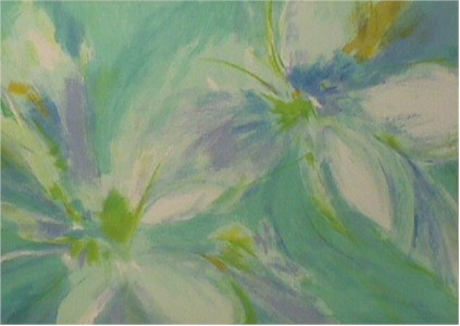 Joan Paley S/N Lithograph, Ballet - Floral