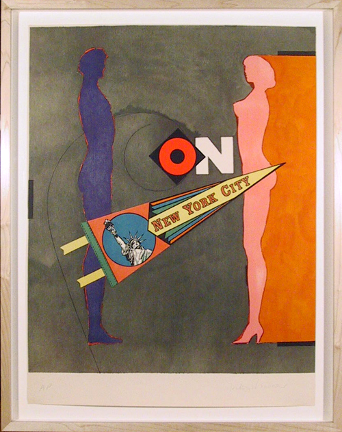 Richard Lindner, New York City, Lithograph