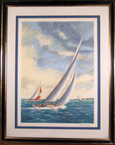 Alex Packham, S/N Lithograph, Sailing Ships
