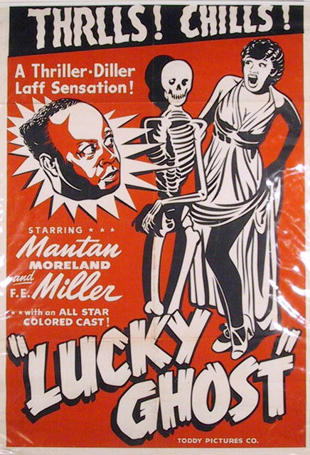 Vintage Poster, Mantan Moreland in Lucky Ghost