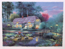 Andrew Warden S/N Lithograph, Bridge Cottage
