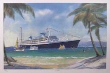 David Brackman S/N Lithograph, Caribbean