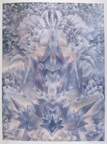 Isaac Abrams S/N Lithograph, Dinav Lineae