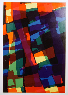 Helen Franyi S/N Serigraph print, Abstract, Mr.