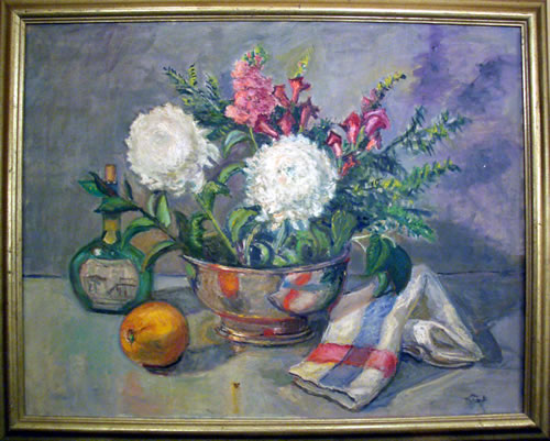 Adela Smith Lintelmann Oil Painting, Floral