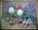 Adela Smith Lintelmann Oil Painting, Floral