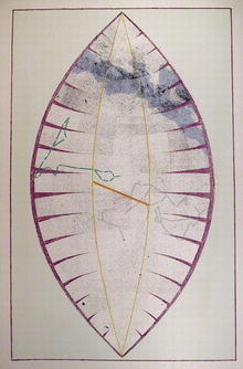 Charles Ross, S/N Lithograph, Leaf