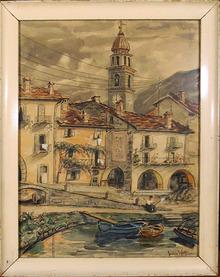 Julie Wolfthorn German Watercolor Painting 1930