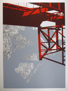 Allan D'arcangelo S/N Serigraph Print