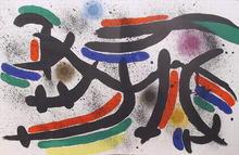 Joan Miro, Lithograph IX, 1972