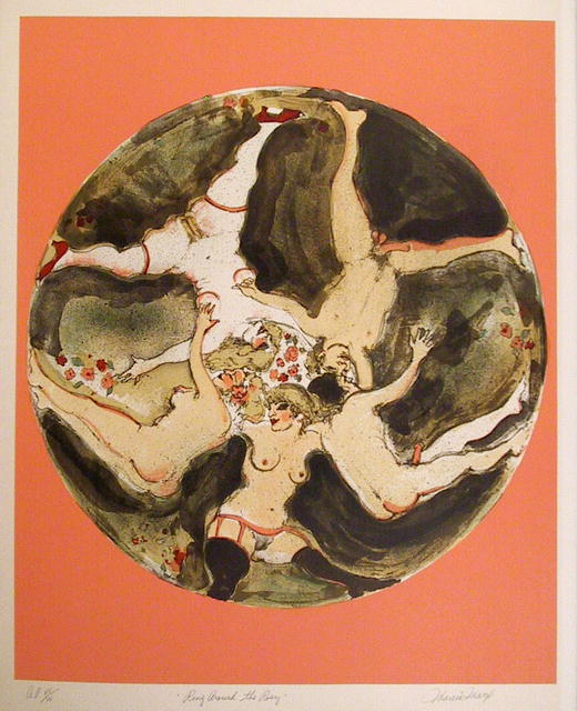 Marcia Marx S/N Lithograph, Ring around the