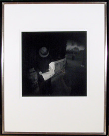 Tony Perrotet Photograph, Man Reading a