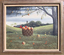 Thomas Kerry Oil Painting, Basket of Apples