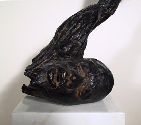 Stanley Bleifeld Bronze Sculpture, Malcolm X