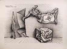 Hans Bellmer, Signed Lithograph, Surrealist