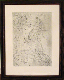 Jules Pascin Plate Signed Etching, c. 1965
