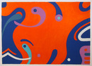 Kyohei Inukai S/N Serigraph, Aquarius Abstract