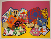 Hunt Slonem, Serigraph, Pillow Painting